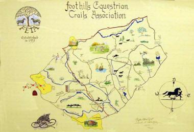 Feta Trails Map Foothills Equestrian Nature Center